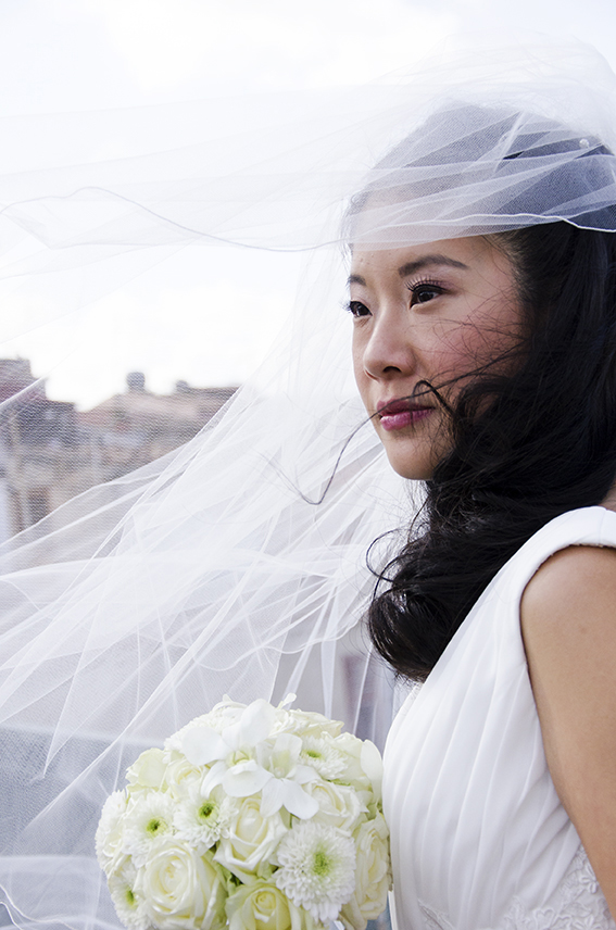 ritratto sposa orientale; matrimonio palermo