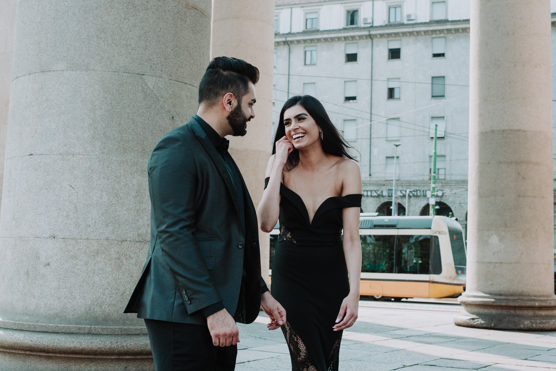 Honeymoon in Milan