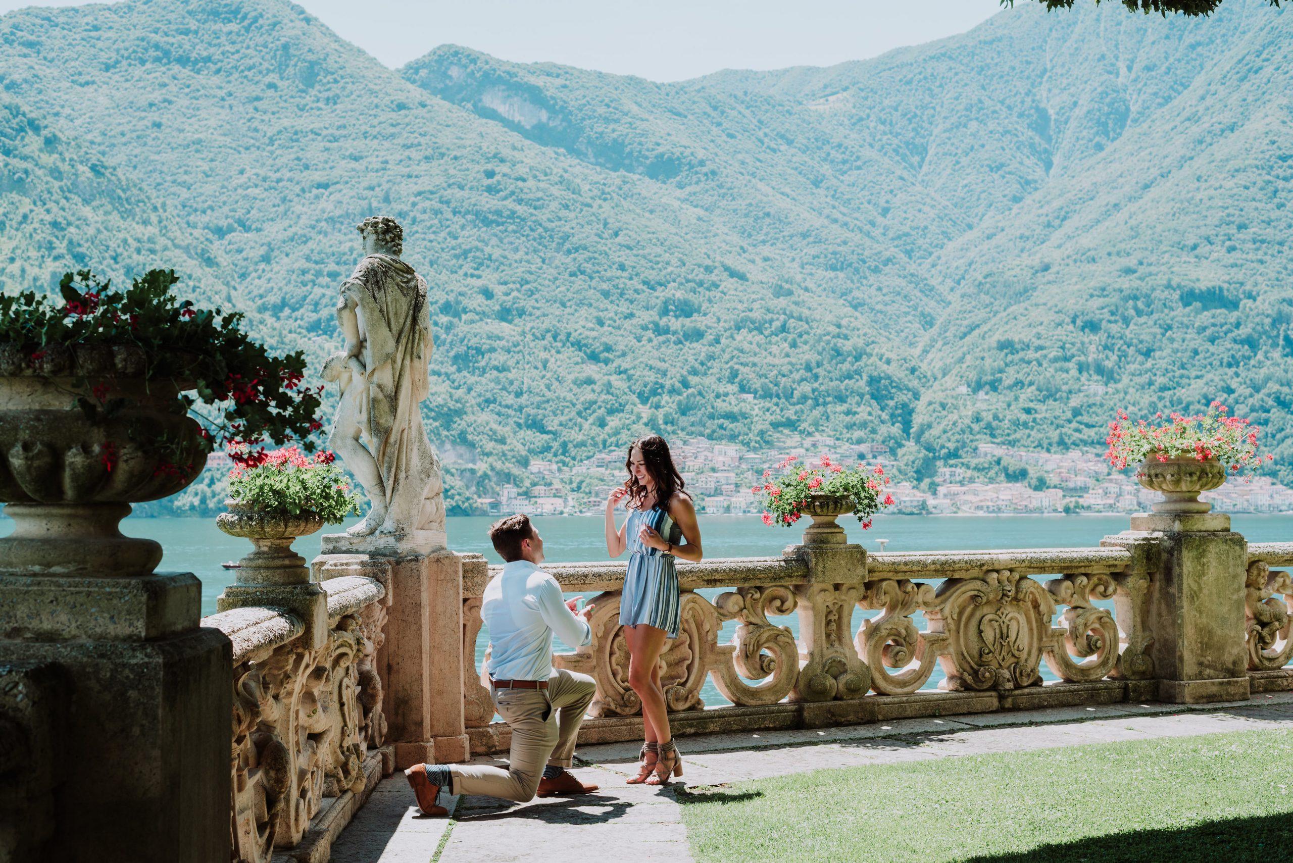 Proposta di Matrimonio; Wedding Proposal in Italy