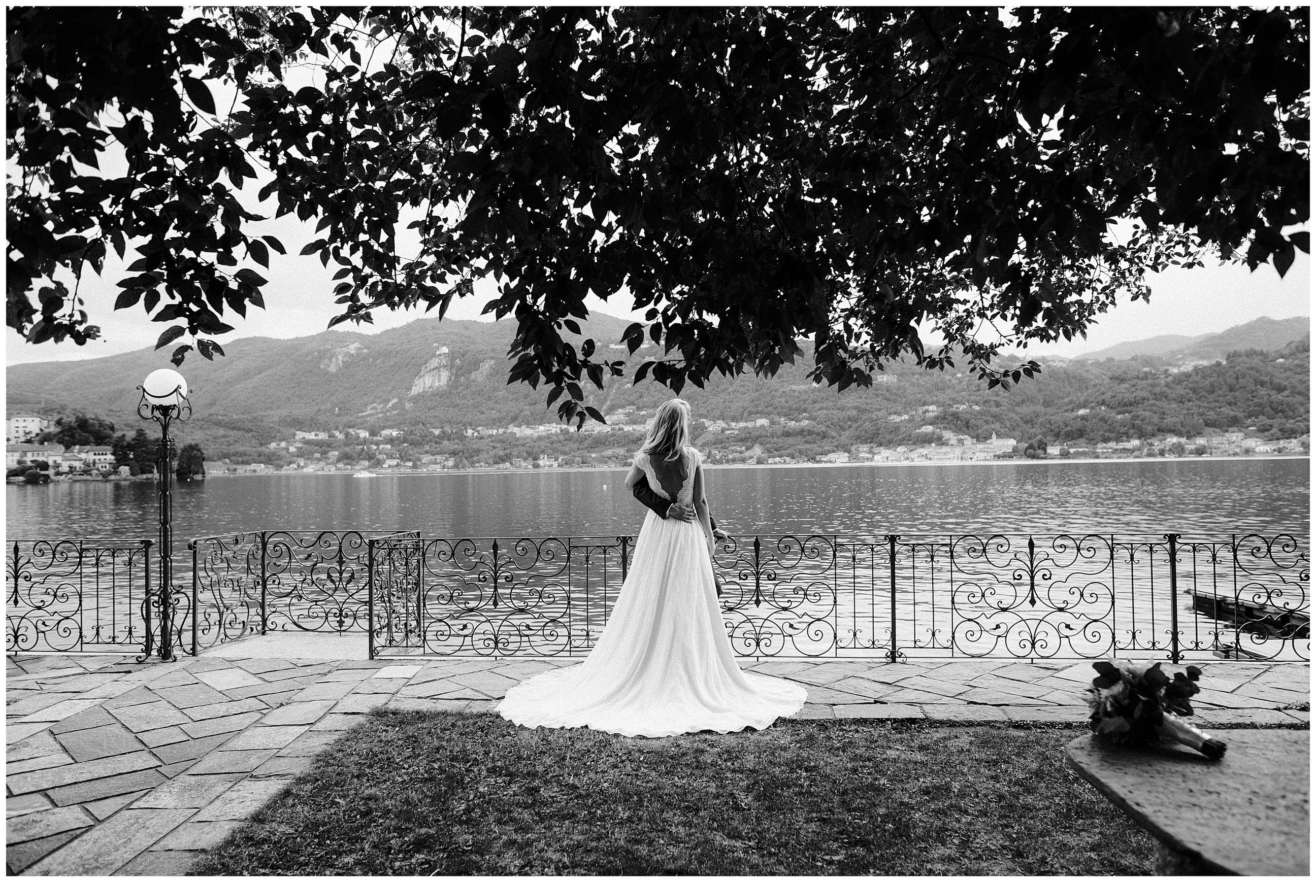 Wedding in Orta Lake
