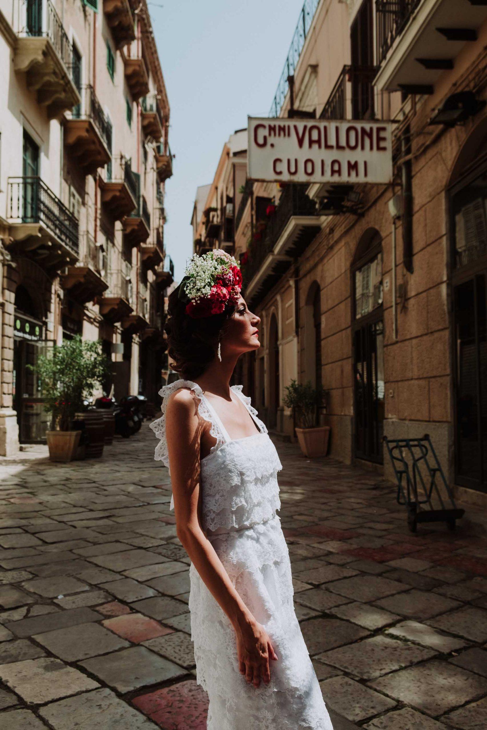 Bride in Sicily